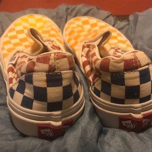 Girls slip on shoes